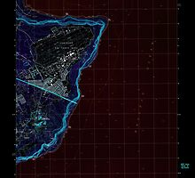 USGS TOPO Map Guam Pati Point 462407 2000 24000 Inverted by wetdryvac