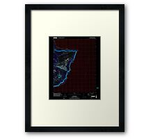 USGS TOPO Map Guam Pati Point 462407 2000 24000 Inverted Framed Print