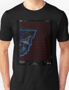 USGS TOPO Map Guam Pati Point 462407 2000 24000 Inverted T-Shirt