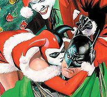 Batman Joker Christmas by FiberWay