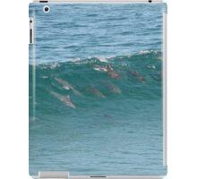 Surfing Dolphins. iPad Case/Skin