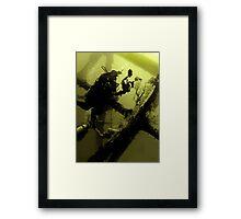 1 2 3 BANANA! Framed Print
