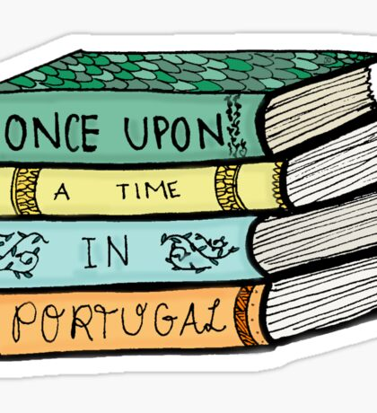 Once Upon A Time in Portugal Sticker