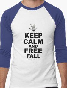 Keep Calm and Freefall Men's Baseball ¾ T-Shirt