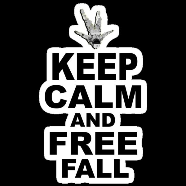 Keep Calm and Freefall by David-Jumel