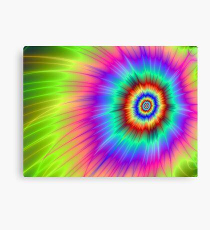 Tie dye Color Explosion Canvas Print