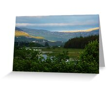 Enchanting Dunlewey Donegal  Greeting Card
