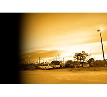 The parking lot Photographic Print