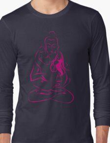 Tantra Buddha - Combining sexuality and spirituality Long Sleeve T-Shirt