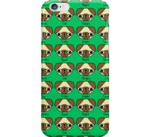 The many facial expressions of a pug iPhone Case/Skin