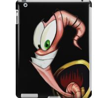 Funny gaming worm iPad Case/Skin