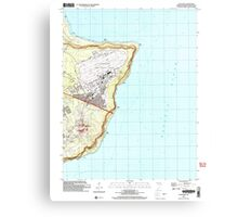 USGS TOPO Map Guam Pati Point 462407 2000 24000 Canvas Print