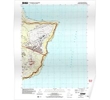 USGS TOPO Map Guam Pati Point 462407 2000 24000 Poster