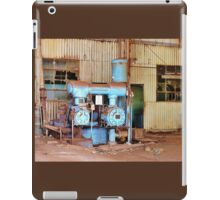 Old Sugar Factory Equipment iPad Case/Skin