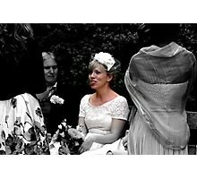 Marriage Conversation Photographic Print