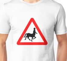 Caution! Centaurs!  T-Shirt