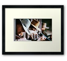 The Wild West  Framed Print