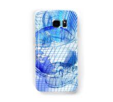 Blue Scape Head Wire  Samsung Galaxy Case/Skin