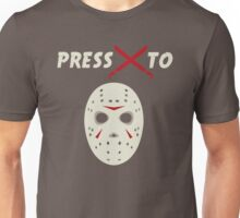 Press X To Jason Unisex T-Shirt