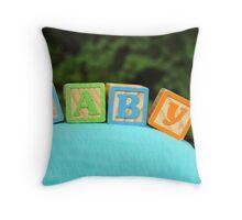 Baby Bump Throw Pillow