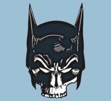 Batman Skull Face Grunge by FunCling