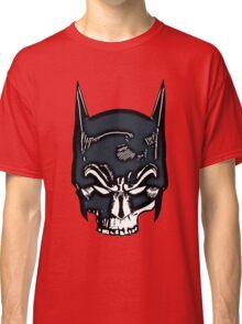 Batman Skull Face Grunge Classic T-Shirt
