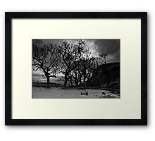 Under Carrol Rock - Loch Brora Framed Print