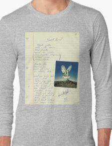 grunge VINTAGE POEM BY TIA KNIGHT Blackbird Long Sleeve T-Shirt
