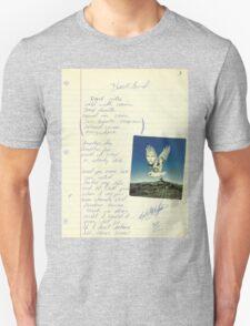 grunge VINTAGE POEM BY TIA KNIGHT Blackbird Unisex T-Shirt