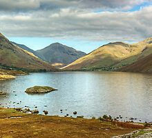 Wastwater In The Autumn by Jamie  Green