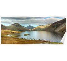 Wastwater In The Autumn Poster