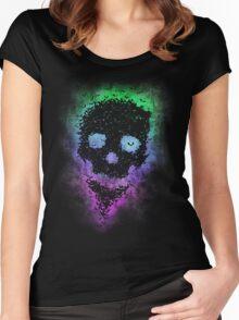 Bat Skull Women's Fitted Scoop T-Shirt
