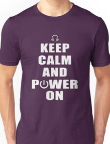 Keep Calm and Power On T-Shirt