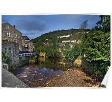 Hebden View Poster