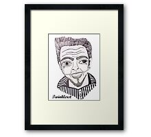 David Bowie - 2012 Framed Print
