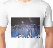 Night Skyline Unisex T-Shirt