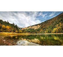 Hidden Paradise; SULUKLU GOL - Suluklu Lake Photographic Print