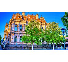The Law Courts Building and Old Town Hall - Bendigo, Victoria Photographic Print