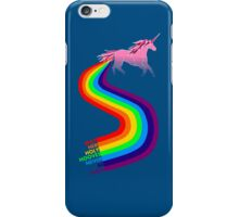 Invisible Pink Unicorn iPhone Case/Skin