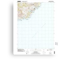 USGS TOPO Map Guam Inarajan 462394 2000 24000 Canvas Print