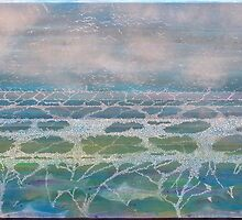 """All Consuming Sea"" by Jo Williams  (Mog Crusoe made in Cornwall)"