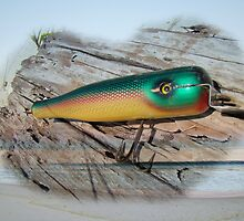 Vintage Saltwater Fishing Lure - Masterlure Rocket by MotherNature