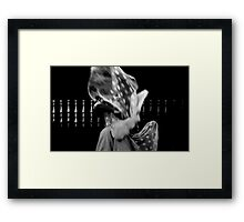 paint the sky with stars Framed Print