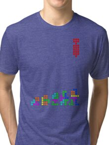 99 Steps of Progress - Game over Tri-blend T-Shirt