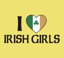 I Love Irish Girls Kids Clothes