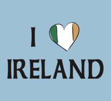 I Love Ireland Kids Clothes