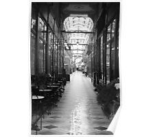 Passage À Carreaux. Poster