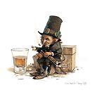 The Uillean Piper by JBMonge