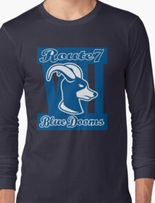 Route 7 Blue Dooms Long Sleeve T-Shirt