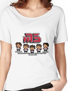 Moscow Pixel 5 Women's Relaxed Fit T-Shirt